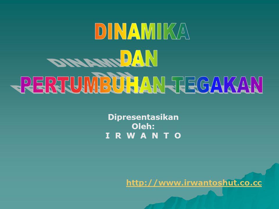 Dipresentasikan Oleh: I R W A N T O http://www.irwantoshut.co.cc