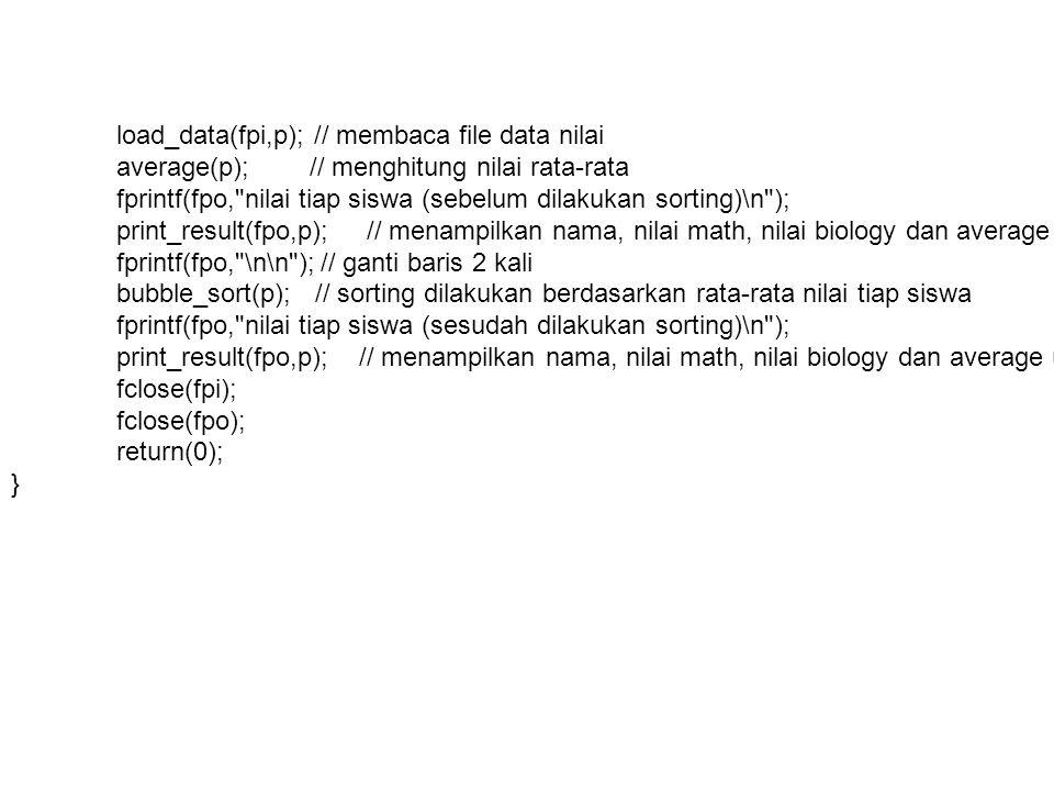 Pemrograman dalam Bahasa C : POINTER & STRUCT Dr.