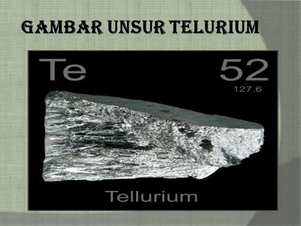 Gambar Unsur Telurium