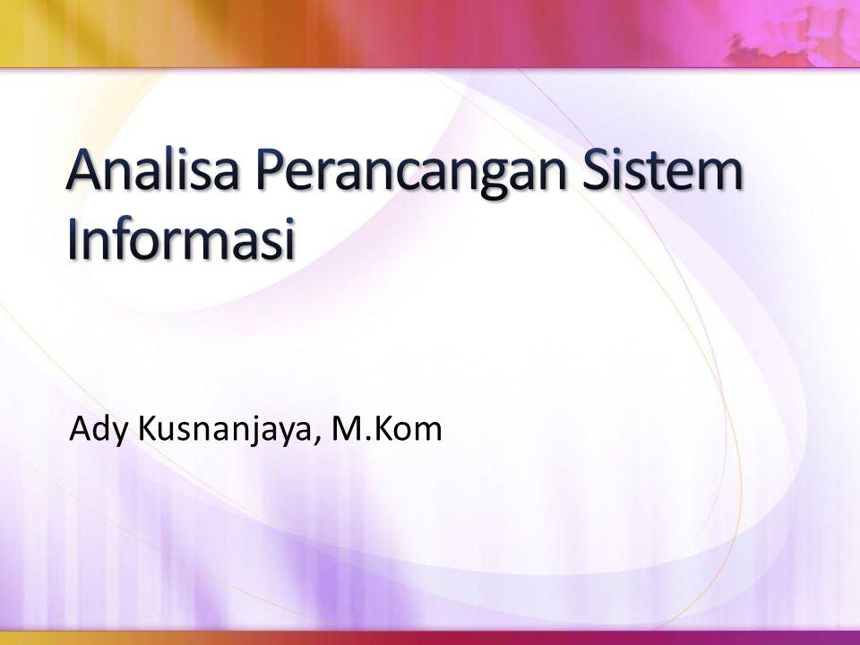 Ady Kusnanjaya, M.Kom