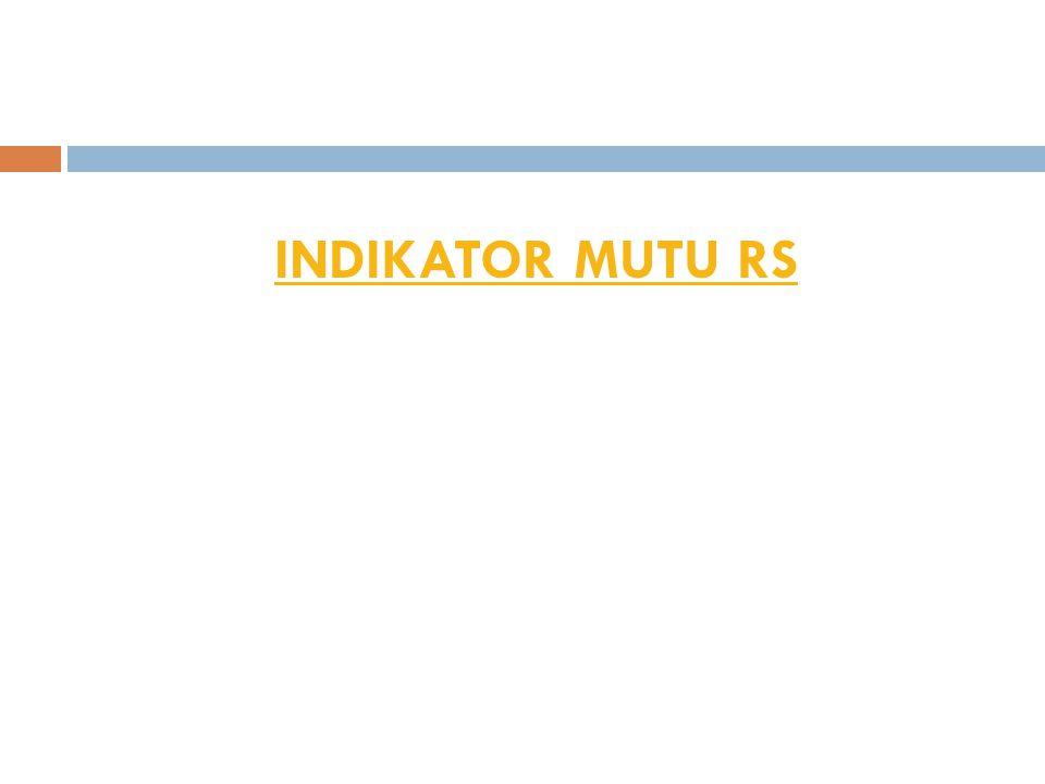 INDIKATOR MUTU RS