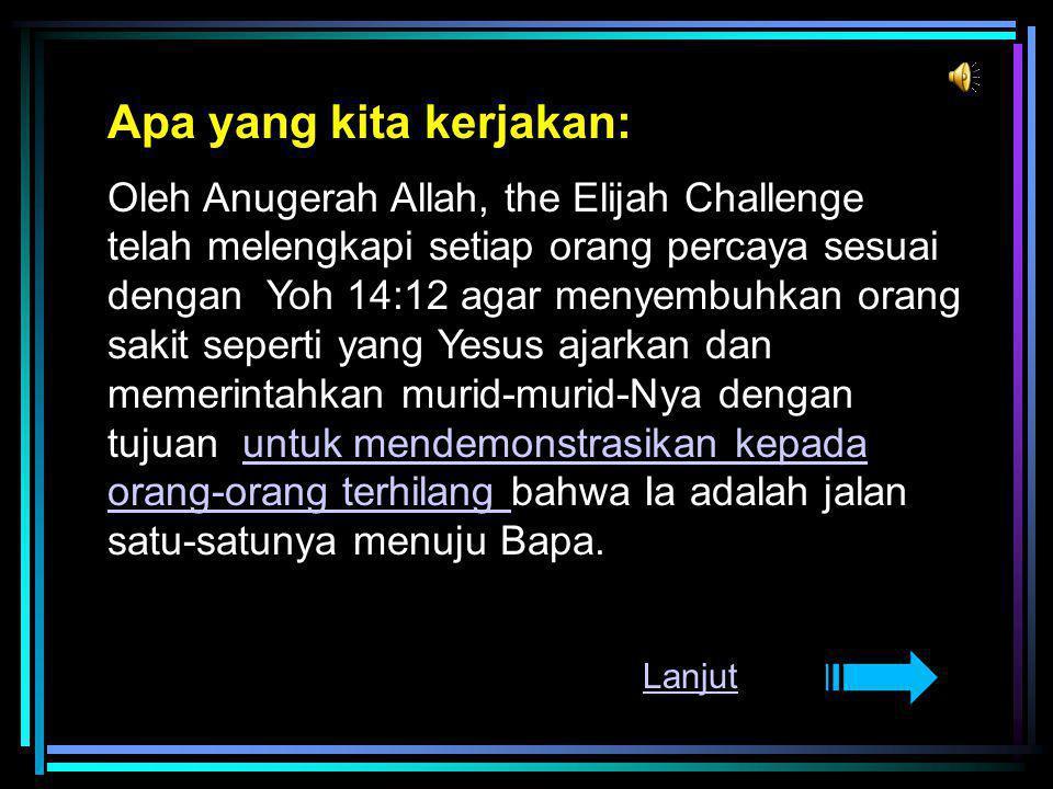 Elijah Challenge Indonesia Ps.Davy Hemanus Ps.