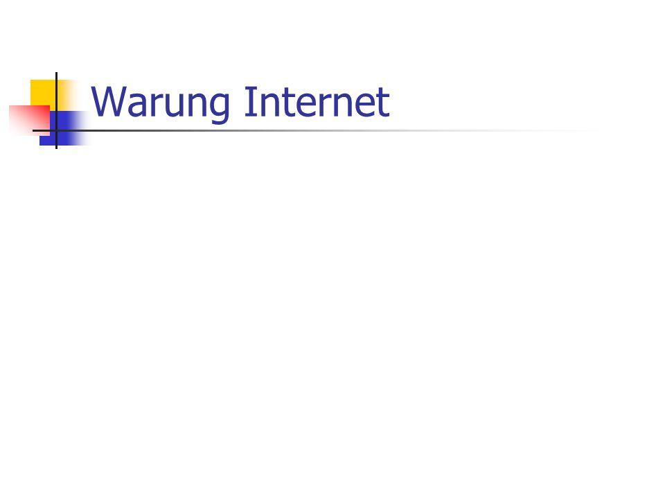 Warung Internet
