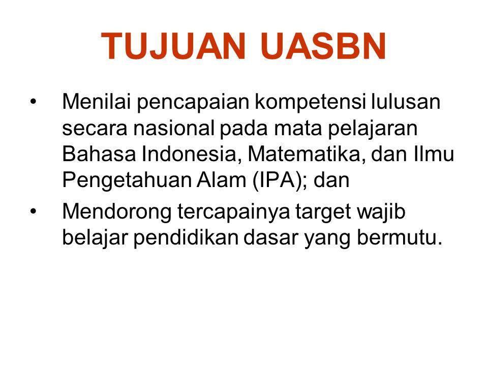 Tanggungjawab Perguruan Tinggi (1) 1.Membentuk tim kerja UN di tingkat provinsi yang bertugas; a.