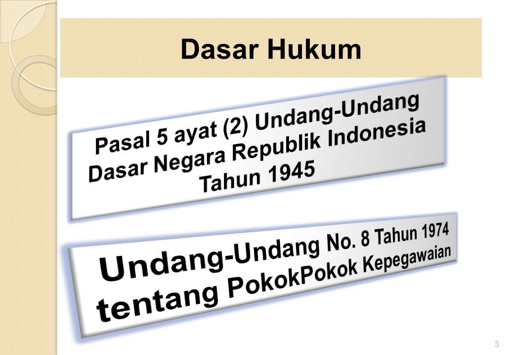 1.PP 30/1980 sudah tidak sesuai dengan kebutuhan dan perkem- bangan keadaan situasi & kondisi saat ini.