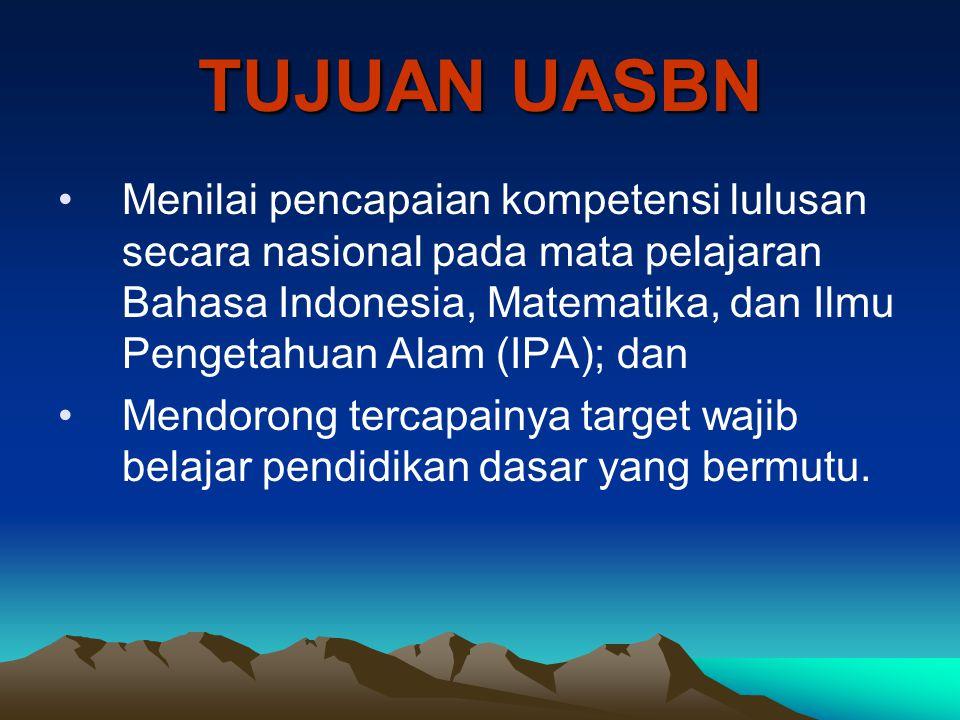 NoHari dan TanggalJamMata pelajaran 1.UN Utama: Senin, 20 April 200908.00 – 10.00Bahasa Indonesia UN Susulan: Senin, 27 April 2009 2.UN Utama: Selasa, 21 April 200908.00 – 10.00Bahasa Inggris UN Susulan: Selasa, 28 April 2009 3.UN Utama: Rabu, 22 April 200908.00 – 10.00Matematika UN Susulan: Rabu, 29 April 2009 JADWAL UN SMK