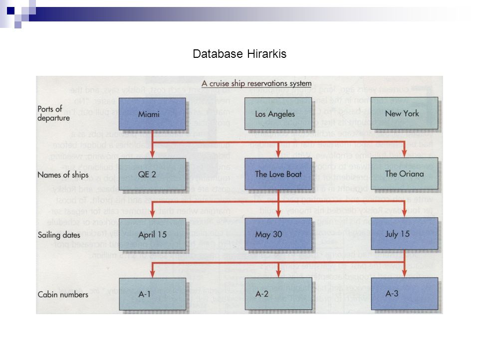 Database Hirarkis