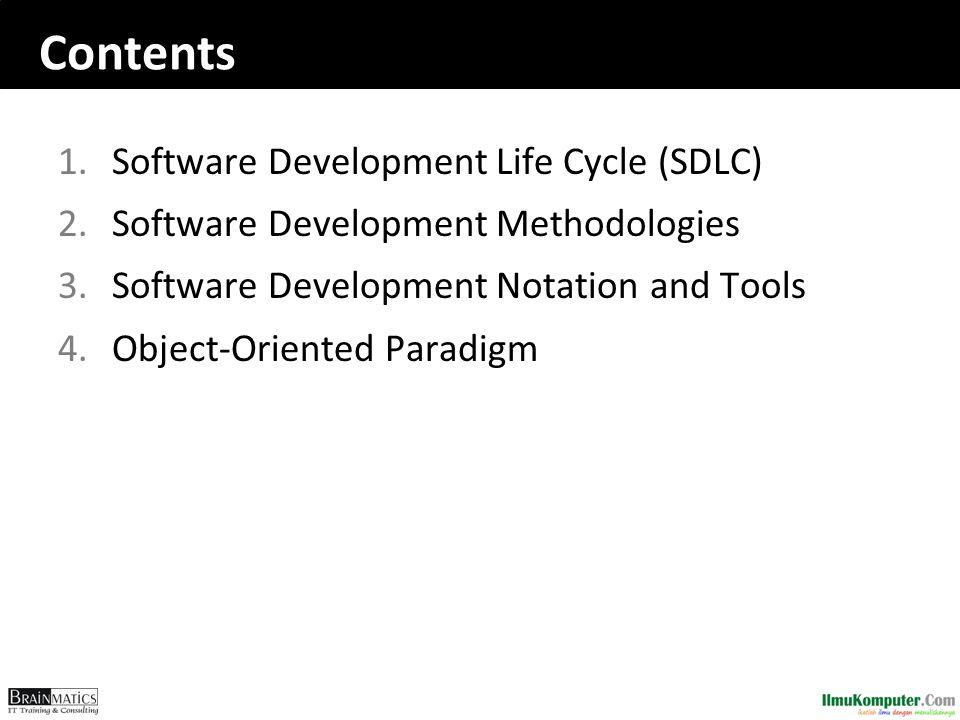 1. Systems Development Life Cycle (SDLC)