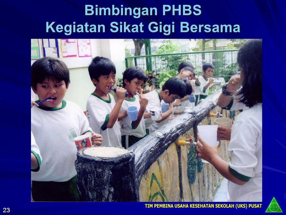 Manfaat Penerapan PHBS di Sekolah Terciptanya sekolah yang bersih dan sehat sehingga peserta didik, guru, dan masyarakat lingkungan sekolah terlindung
