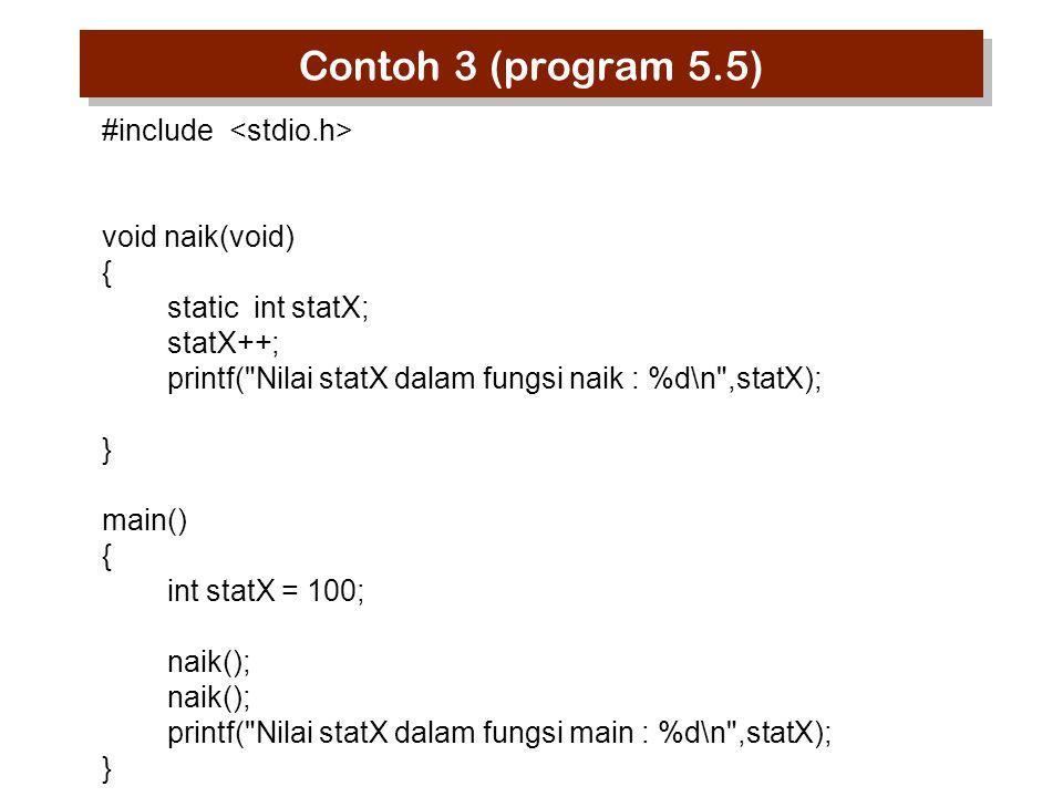 Variabel Register Variabel yang disimpan dalam register, bukan dalam RAM (Random Access Memory).