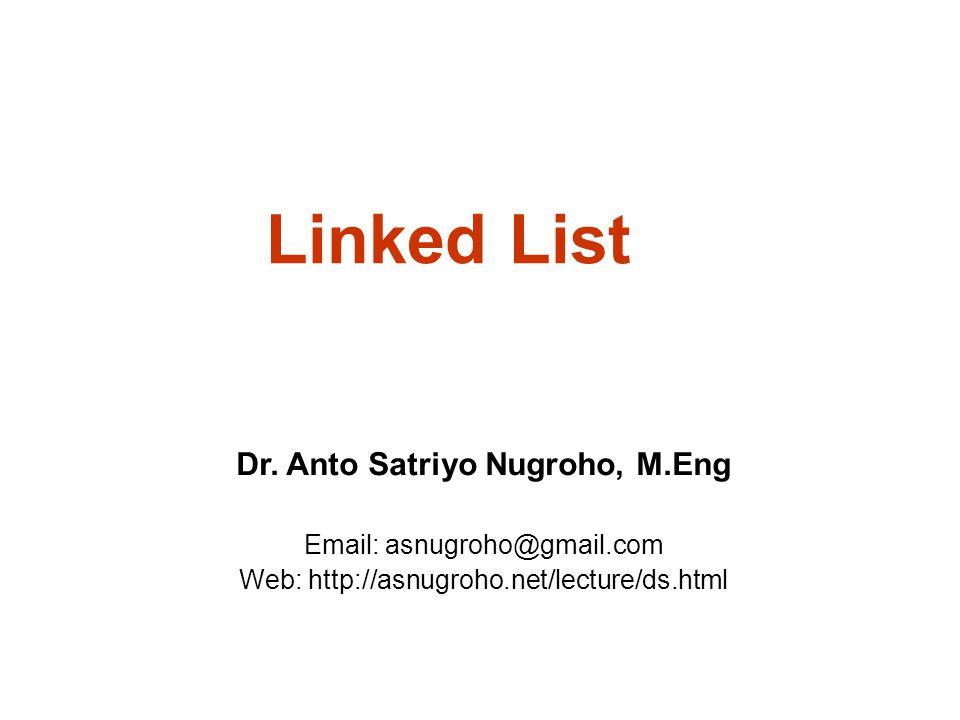 Linked List Dr.