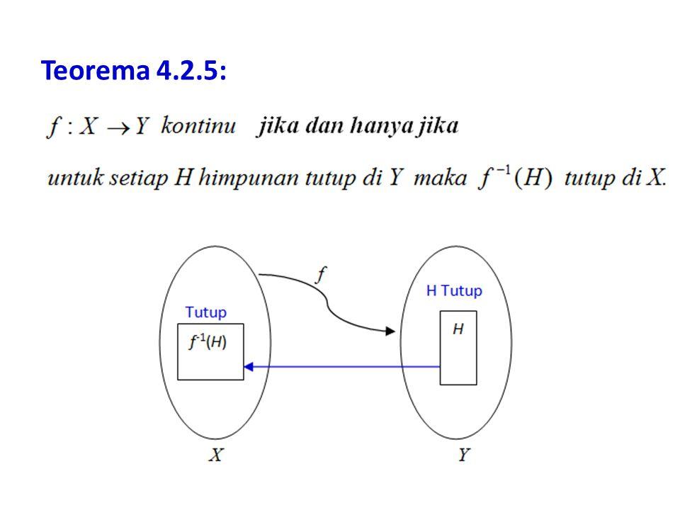 Teorema 4.2.5: