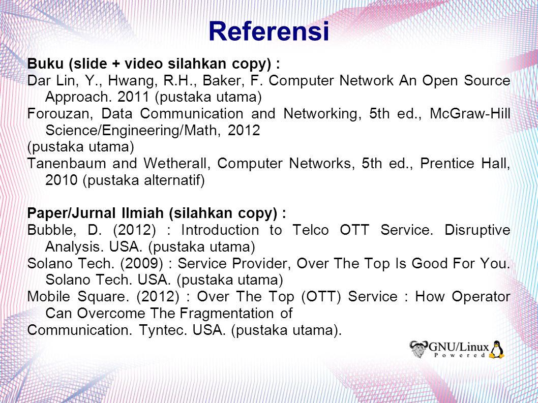 Struktur Paket Data Pada Web Server (2) Sumber gambar : Yin Dar Lin : Computer Network, an Open Source Approach Penjelasan : A = Incoming packet dengan user req.