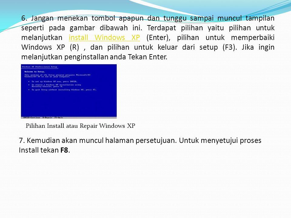 Halaman Lisensi Agreement 8.