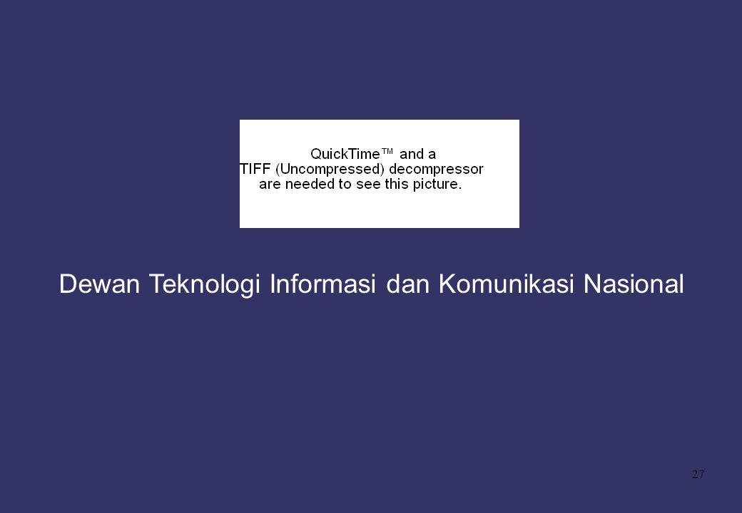 27 Dewan Teknologi Informasi dan Komunikasi Nasional