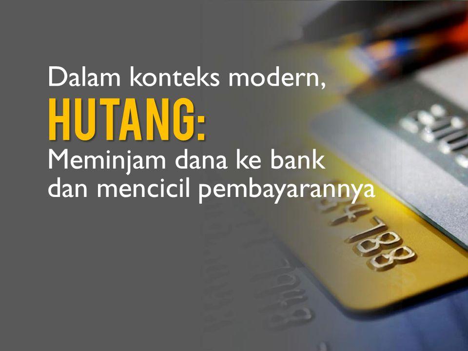 Ada dua macam hutang: