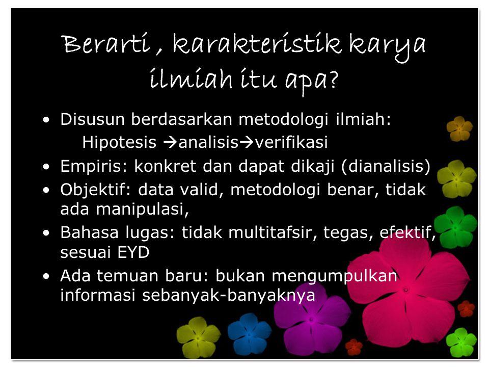 Contoh Rumusan Masalah: Penelitian yang akan dilakukan untuk menjawab permasalahan sebagai berikut: Apa kebudayaan Sunda yang menjadi ciri khas daerah Bogor.