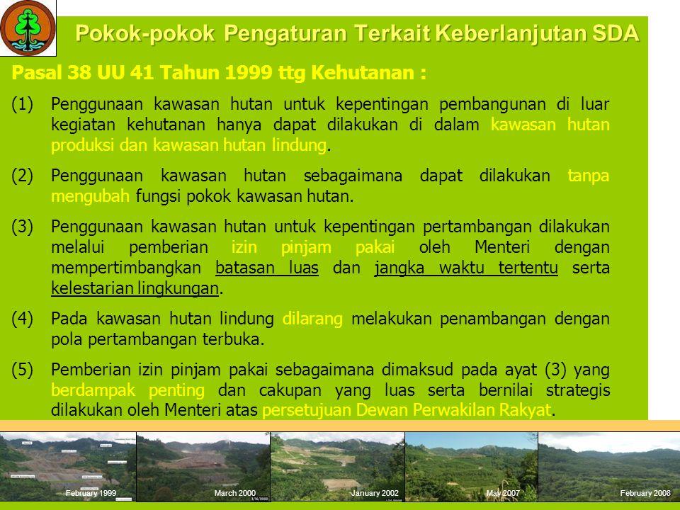 L1L2L3 - Bukaan tambang aktif - Pabrik - Washing Plant - Kolam Tailing - Bengkel - Tockpile - Tempat penimbunan slag - Pelabuhan/ dermaga - Jalan - Kantor - Perumahan Karyawan - Sarana Pengolahan - Instalasi penunjang - Tempat penyimpanan *Obyek pinjam pakai kawasan hutan lainnya: - Religi - Pertahanan keamanan - Migas - Panas Bumi - Jaringan telekomunikasi - Repiter - Ketenagalistrikan - Saluran air, - Jalan Tol - Jalan/rel Kereta api - Stasiun Pemancar Radio & TV  Timbunan Tanah Pucuk  Timbunan material tanah penutup (Waste dump)  Kolam sedimen  Bukaan Tambang Selesai (Mined Out) Bukaan tambang yang secara teknis tidak dapat ditutup/ ditimbun kembali 14
