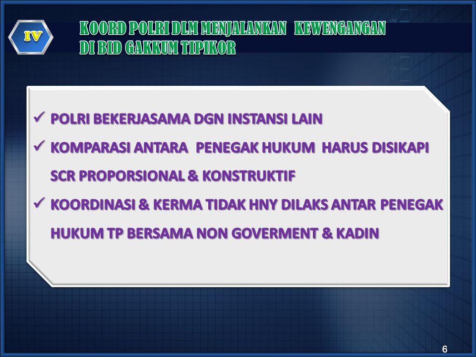  KORUPSI TELAH BERLANGSUNG SANGAT LAMA DAN DIDUGA USIANYA SAMA DENGAN USIA PERADABAN MANUSIA  LAHIR DALAM SISTEM HUKUM INDONESIA DALAM PERATURAN PENGUASA PERANG NO.