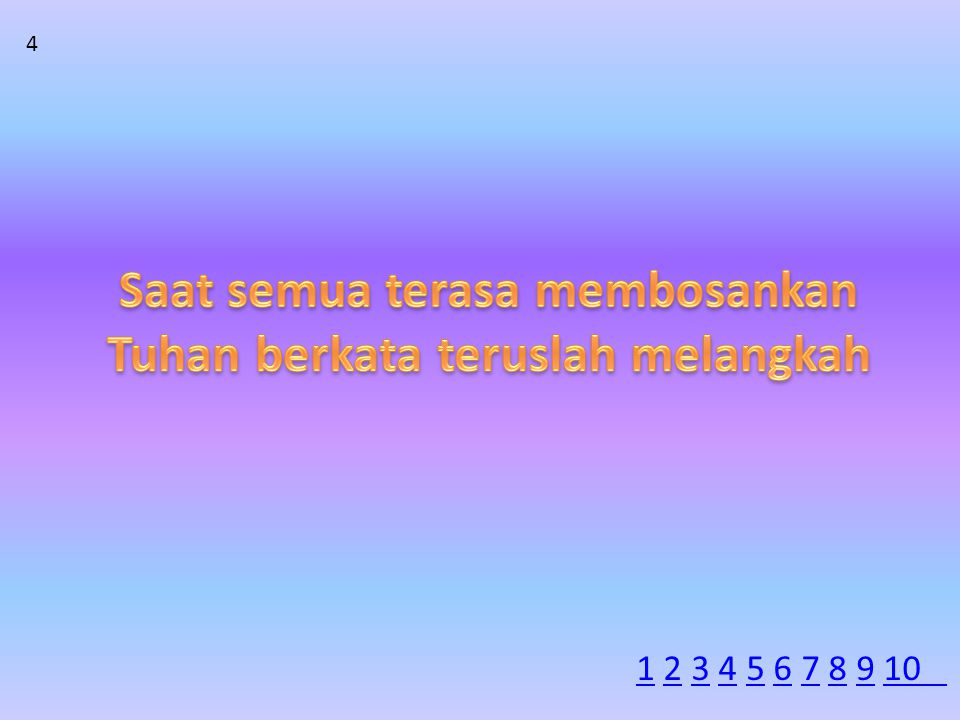 4 11 2 3 4 5 6 7 8 9 102345678910