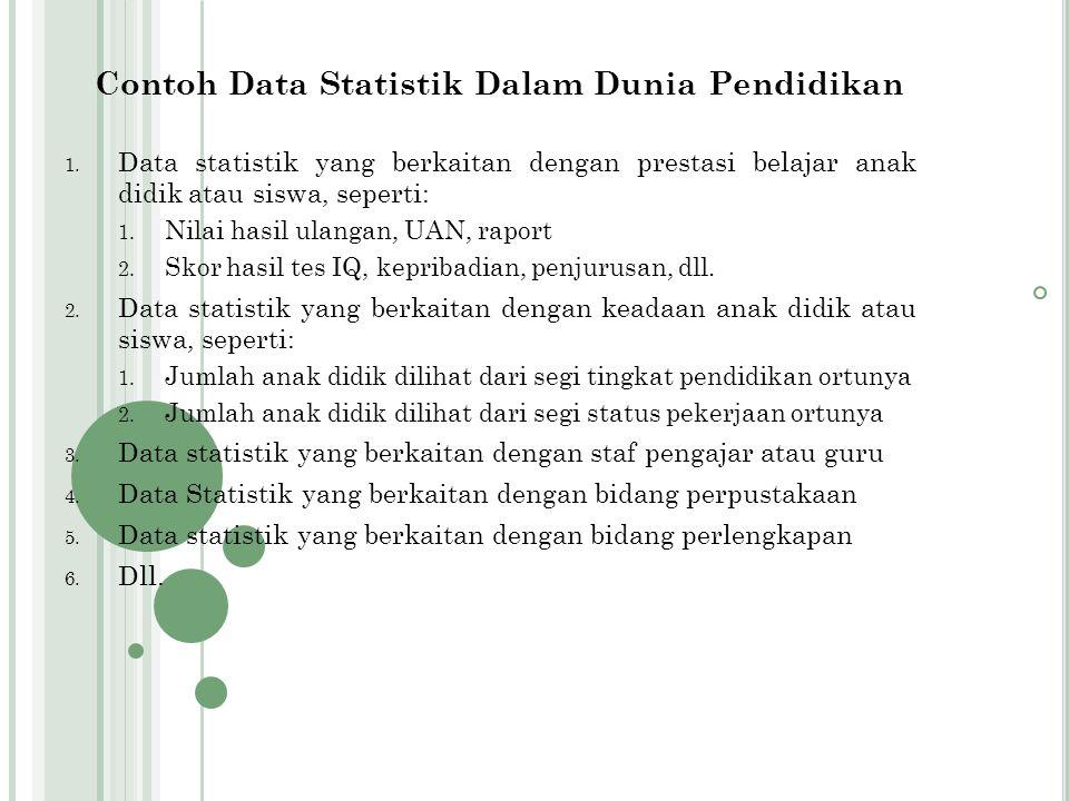 Bentuk pelaksanaan kegiatan pengumpulan datanya, dapat berbentuk : 1.