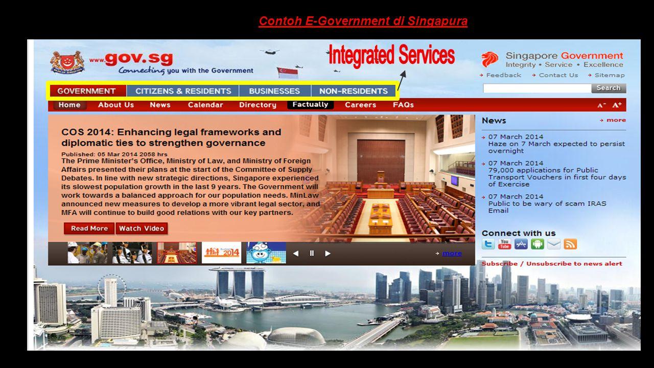 Contoh E-Government di Singapura