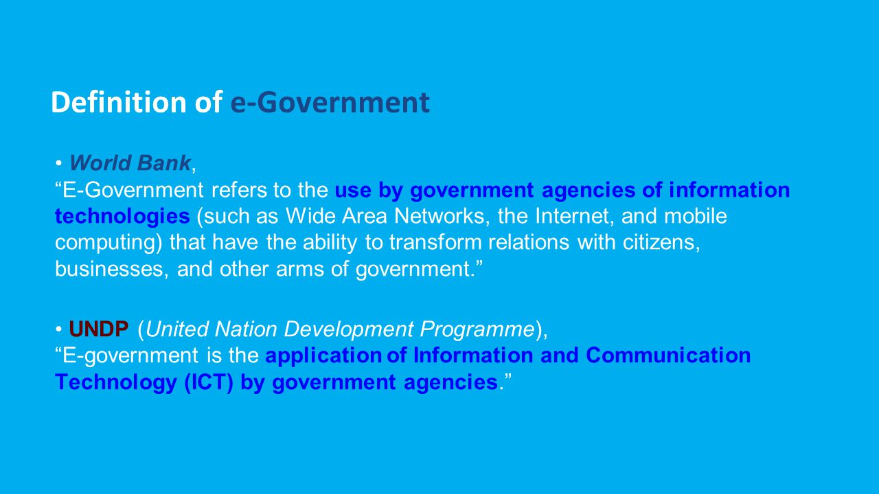 Model e-Government G2C (government to citizens) G2B (government to businesses) G2E (government to employees) G2G (government to governments) C2G (citizens to governments) Sumber: GSA Federal Technology Service