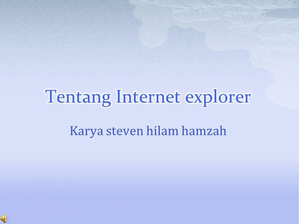 Karya steven hilam hamzah