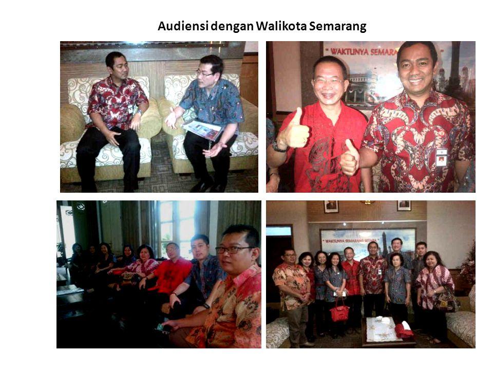 Audiensi dengan Walikota Semarang
