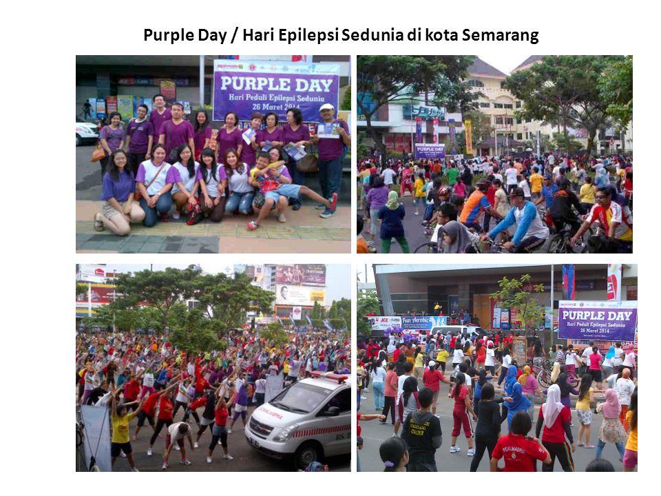 Purple Day / Hari Epilepsi Sedunia di kota Semarang