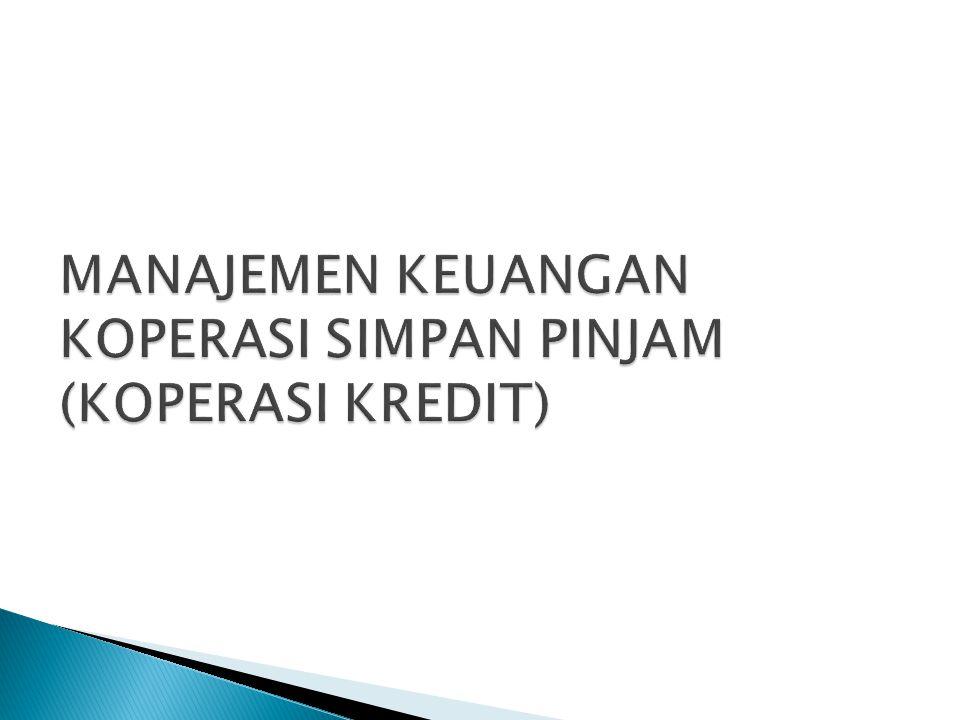  Pasar keuangan;  Keputusan dibidang keuangan;  Pengertian Manajemen Keuangan;  Tujuan koperasi dalam kontek manajemen keuangan.