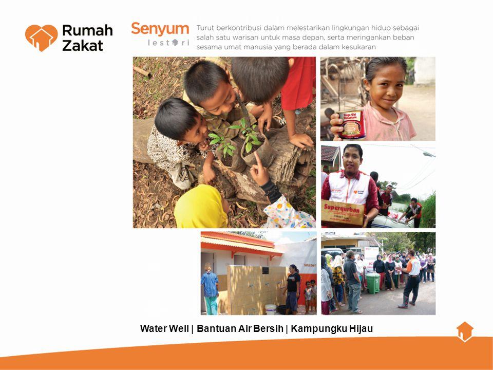 Water Well | Bantuan Air Bersih | Kampungku Hijau