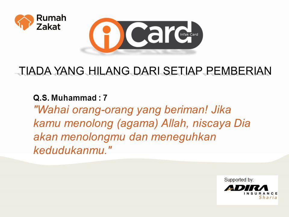 Q.S. Muhammad : 7