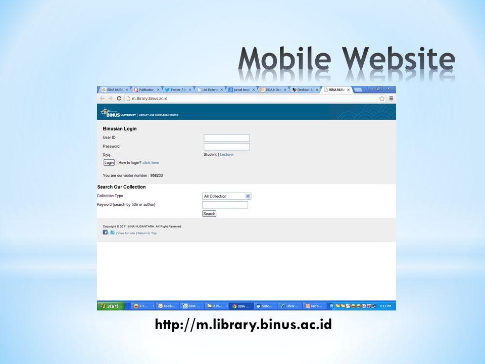 http://m.library.binus.ac.id