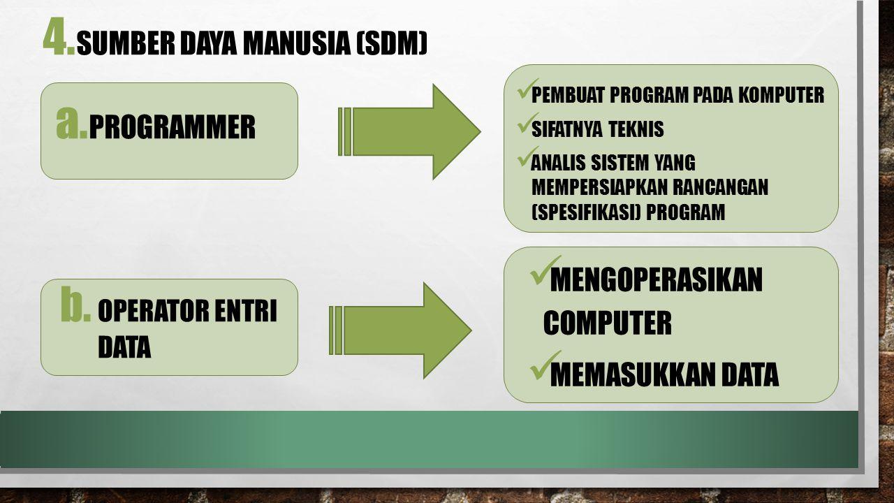 a.PROGRAMMER 4.
