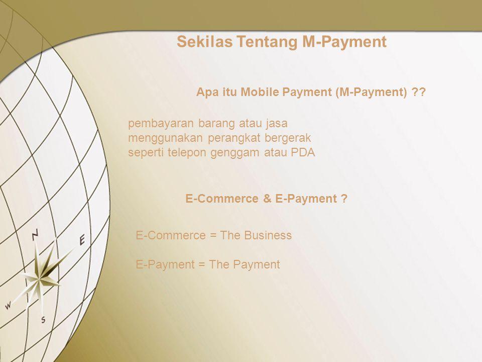 Apa itu Mobile Payment (M-Payment) .