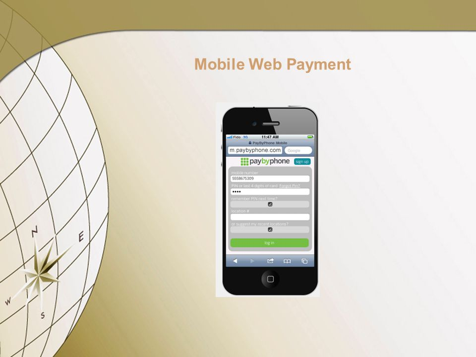 Mobile Web Payment