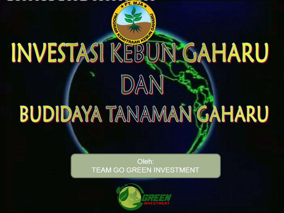 Oleh: TEAM GO GREEN INVESTMENT