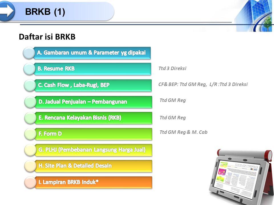 BRKB (1) Daftar isi BRKB Ttd 3 Direksi CF& BEP: Ttd GM Reg, L/R :Ttd 3 Direksi Ttd GM Reg Ttd GM Reg & M. Cab