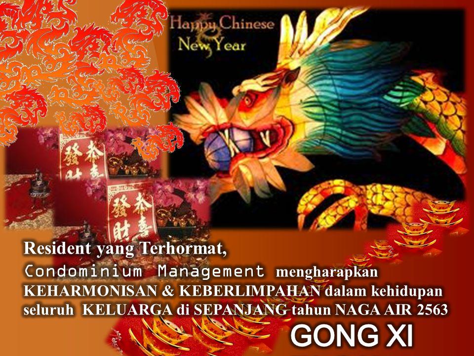 Selamat Tahun Baru 2012 Kami berharap Tahun Baru ini akan membawa Kesuksesan dan Kebahagiaan Baru, bagi seluruh Resident.
