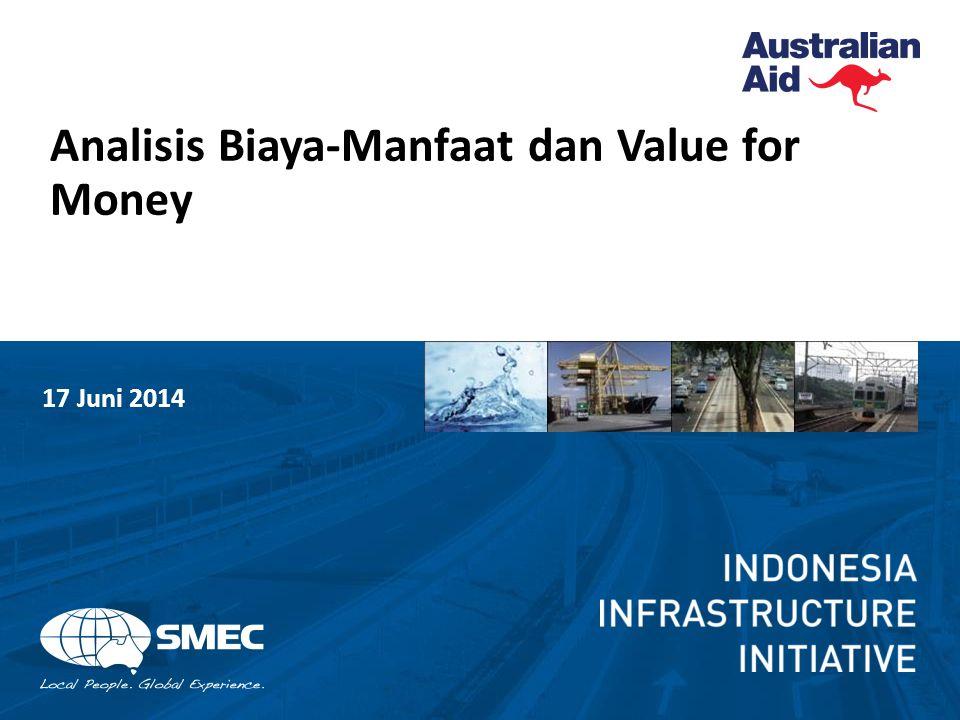 12 Analisis biaya-manfaat dalam transportasi Tujuan utama dari evaluasi penilaian ekonomi dari suatu proyek transportasi adalah untuk mengukur besarnya dampak ekonomi yang dihasilkan dari investasi.
