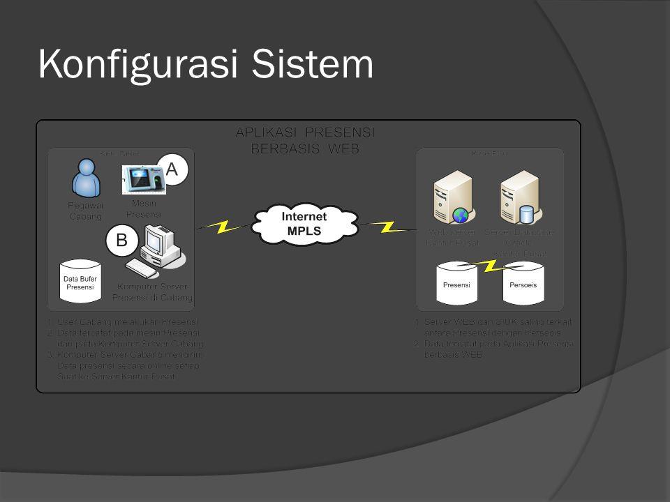 Konfigurasi Sistem