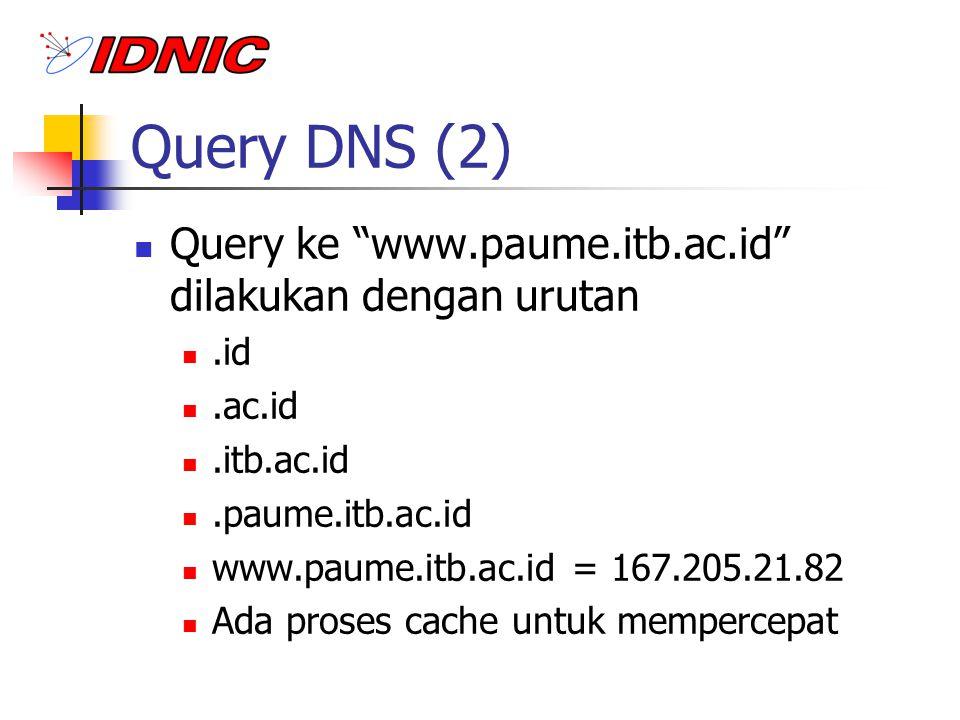 Klasifikasi Nama Domain gTLD (generic Top Level Domain).edu,.com,.net,.org,.gov,.mil,.net,.int Dikelola oleh IANA, InterNIC (Network Solutions).
