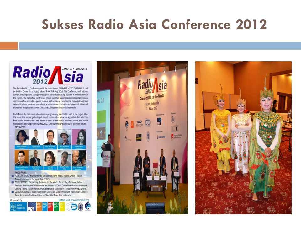 Sukses Radio Asia Conference 2012