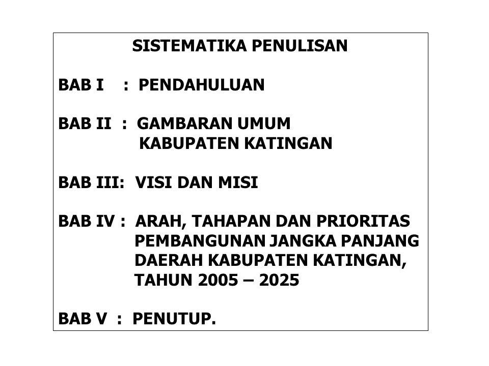 III.VISI DAN MISI 3.1.