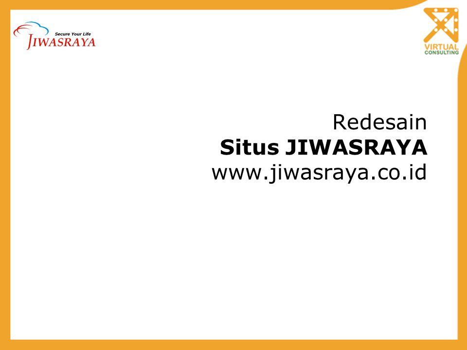 Redesain Situs JIWASRAYA www.jiwasraya.co.id