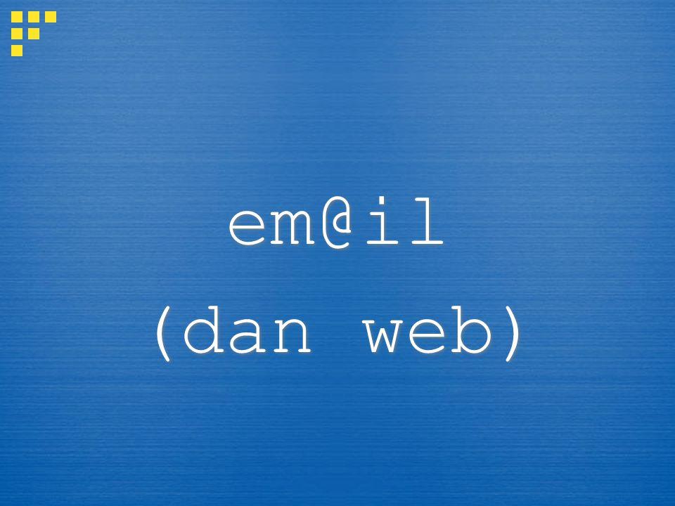 em@il (dan web) em@il (dan web)