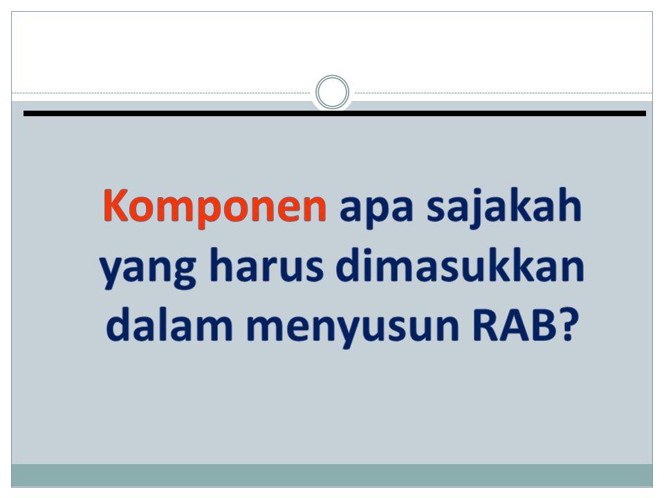 RENCANA ANGGARAN BIAYA REVISI USUL PENELITIAN HIKOM TAHUN III TA 2012 1.
