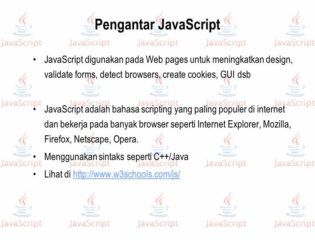 Apa itu JavaScript.