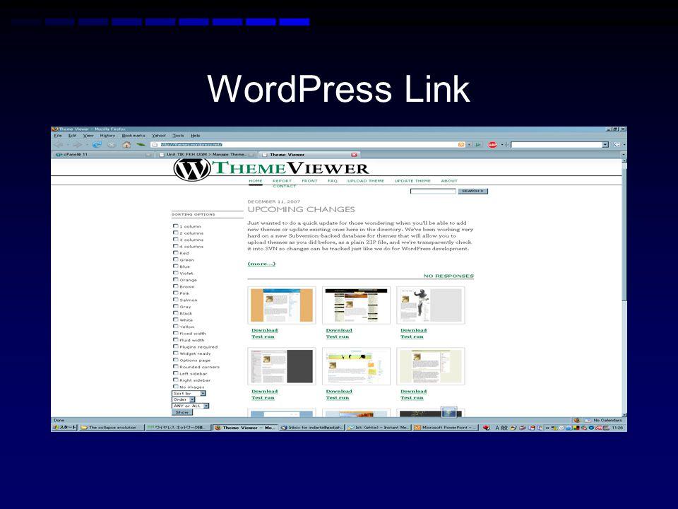 WordPress Link